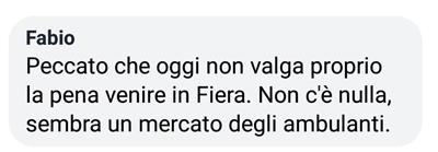 Le fiere peggiori in Italia