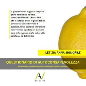 Copertina libro Questionario di autoconsapevolezza_di Letizia Anna Signorile
