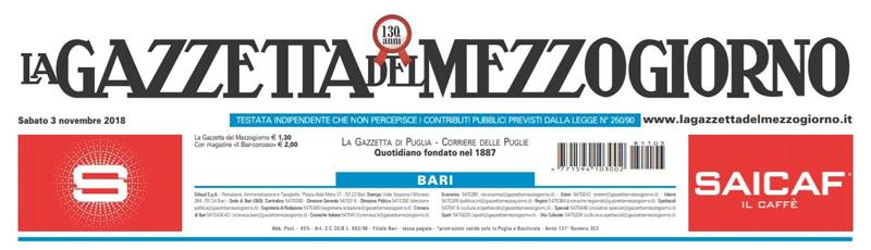 La Gazzetta del Mezzogiorno Arch. Letizia Anna Signorile
